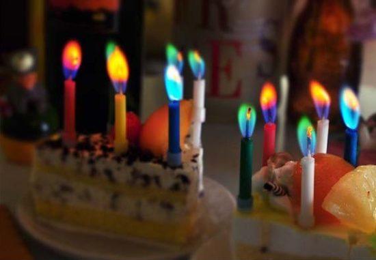 Aliexpress разноцветные свечи