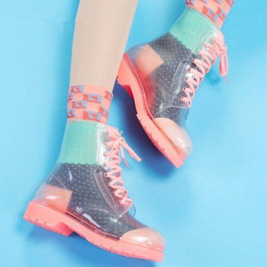 Алиэкспресс прозрачные ботинки