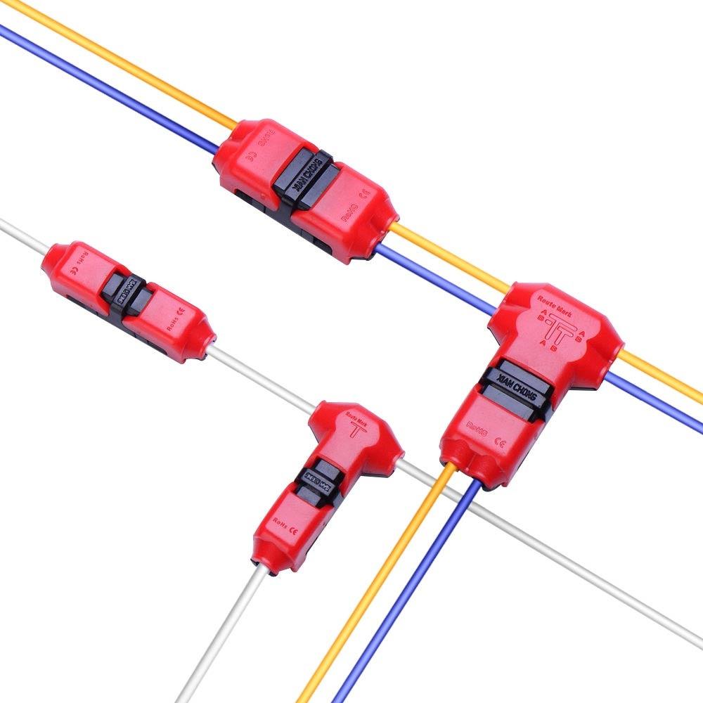 Коннекторы для сращивания проводов Алиэкспресс