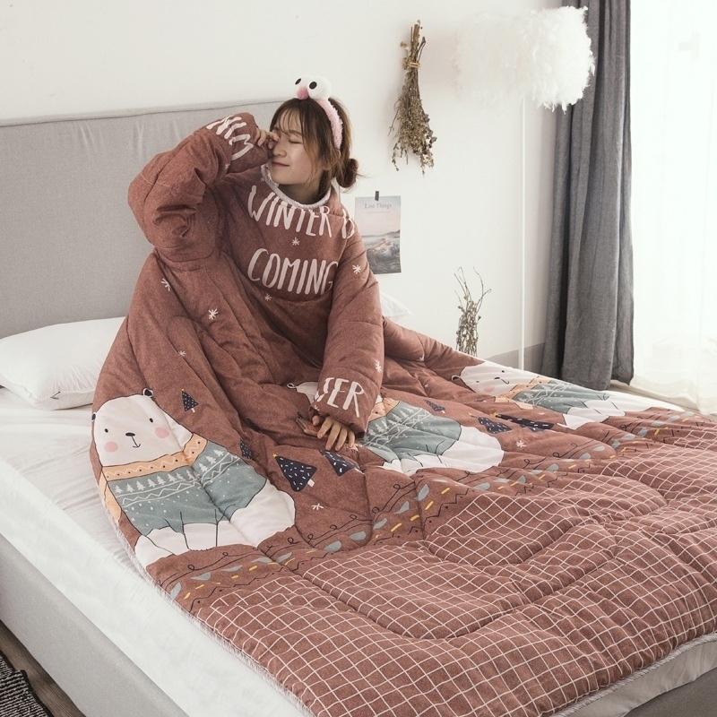 Алиэкспресс одеяло с рукавами