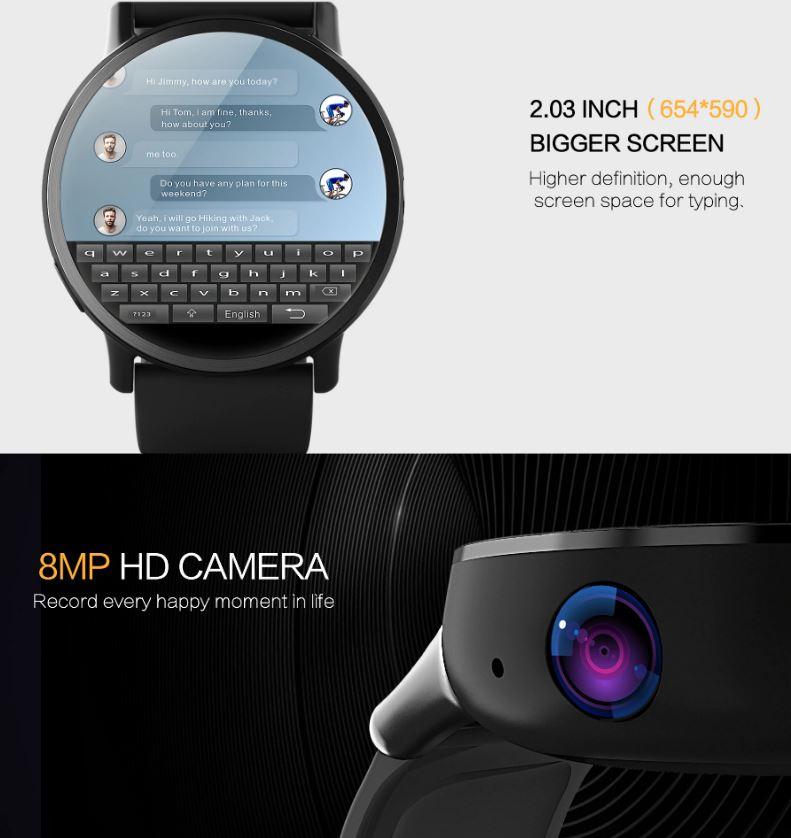 Смарт-часы с камерой LEMFO Алиэкспресс