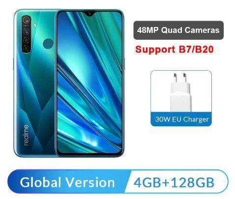 Смартфон Realme 5 Pro 4GB 128GB купить на алиэкспресс