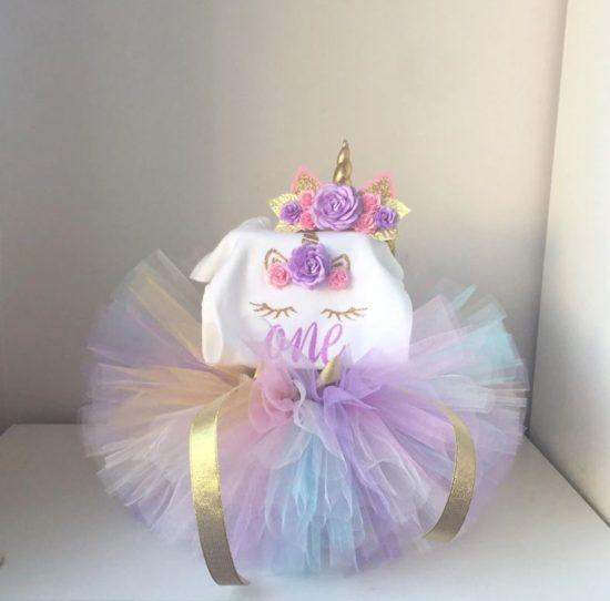 Наряд на день рождения ребенка (1 год)