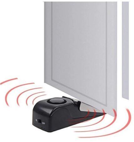 Дверная сигнализация-стопор с сиреной (сигнальный стопор для двери)
