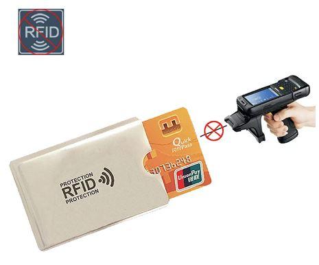 Чехол для карт с RFID защитой от считывания NFC Алиэкспресс