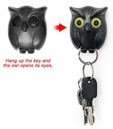 Держатель для ключей в виде совы купить на Алиэкспресс
