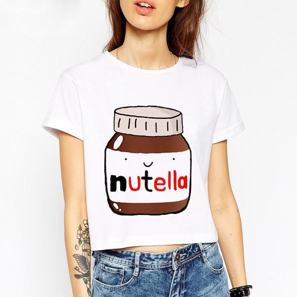 Футболка Nutella Алиэкспресс