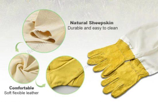 Перчатки для пчеловодства Алиэкспресс