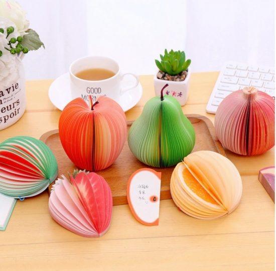 Блокноты в форме фруктов Алиэкспресс