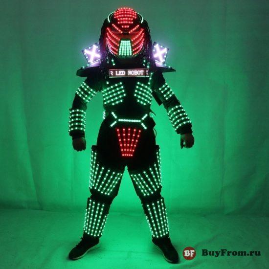 Светодиодный костюм Алиэкспресс