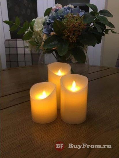 Светодиодные свечи Алиэкспресс