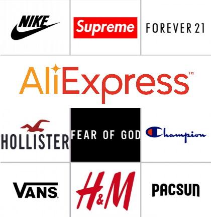 Как найти бренды Алиэкспресс