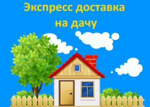 Экспресс доставка Яндекс Маркет расширяет зону: закажи на дачу