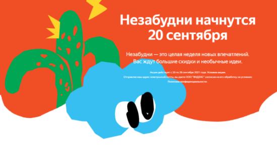 Незабудни на Яндекс Маркет: скидки до 70% и повышенный кешбэк